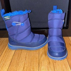 L.L. Bean Toddler Waterproof Snow Boots Size 10